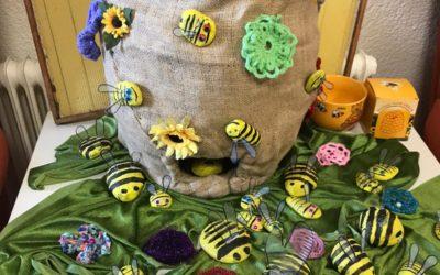 Bienen Projekt in der Tagespflege